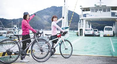 ゆめしま街道サイクリング