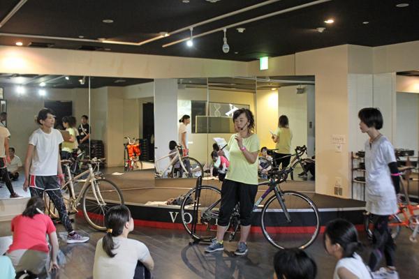 自転車の種類や乗り方について説明