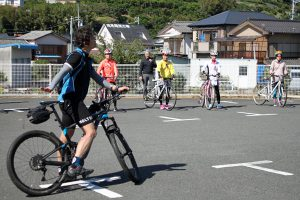 スポーツサイクルの基本をレクチャー
