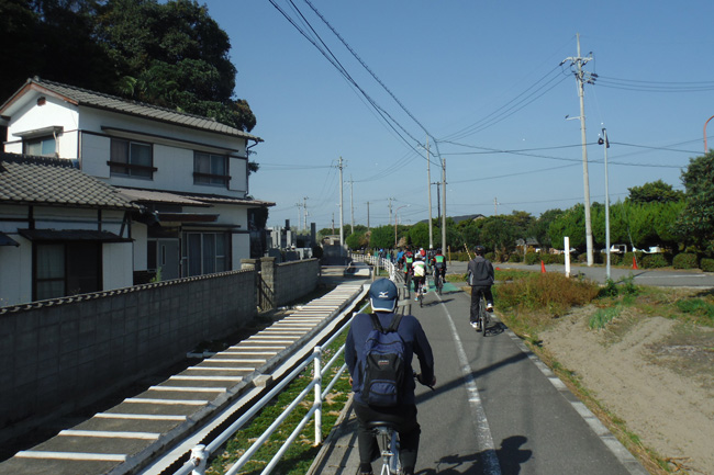 17まちなかサイクリングスタンプラリー②