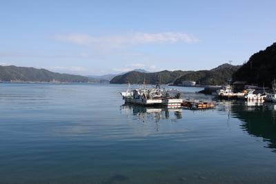 三浦半島の内海の風景