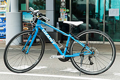 今治市レンタサイクルターミナルのクロスバイク