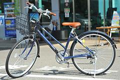 今治市レンタサイクルターミナルのシティサイクル(軽快車)