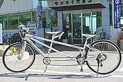 今治市レンタサイクルターミナルのタンデム自転車