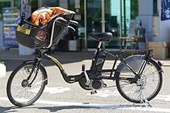 今治市レンタサイクルターミナルの電動アシスト付自転車(バリイさん号)