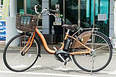 今治市レンタサイクルターミナルの電動アシスト付自転車