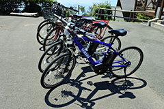 瀬戸アグリトピアの電動アシスト自転車(シティバイク型)