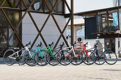 西条市観光交流センターのクロスバイク