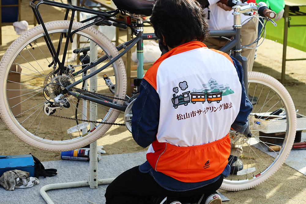 自転車無料安全点検