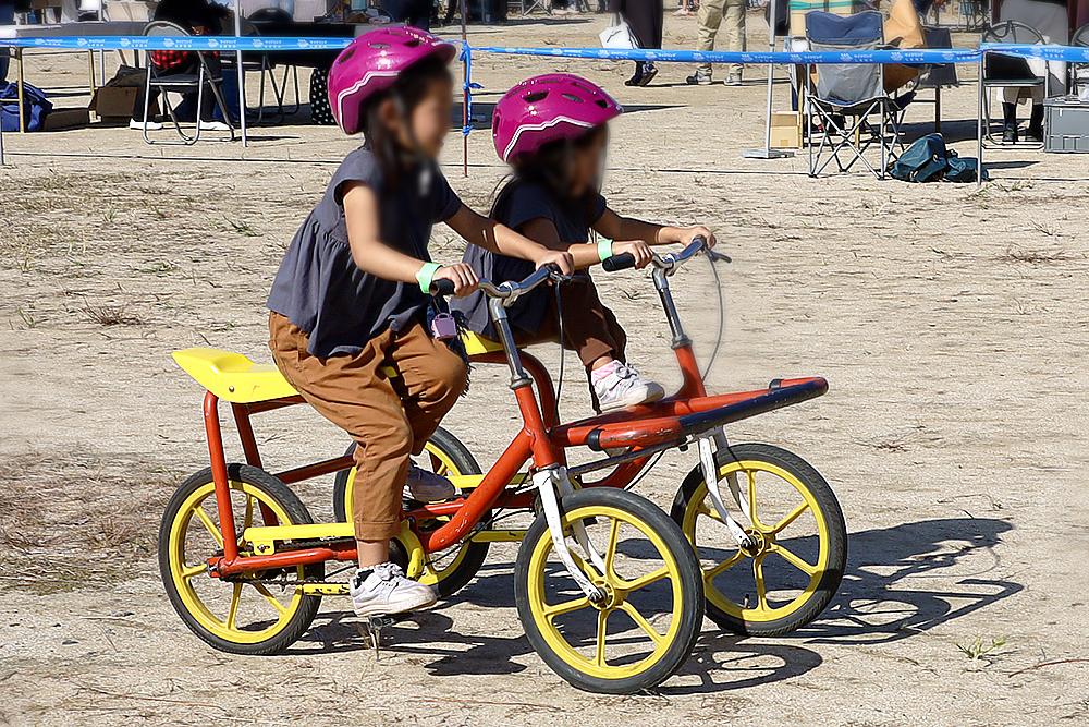2人乗り4輪車