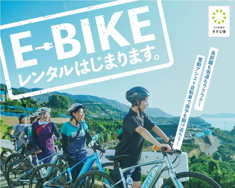 【ポスター】e-bike-rental